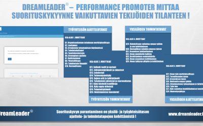 Missä on Sinun organisaatiosi kyvykkyyden näkymättömät pullonkaulat ? Tutustu DreamLeader – Performance Promoter menetelmäämme.