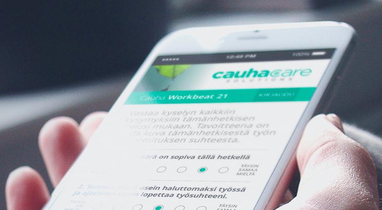 CaaS – Care as a Service. Uuden ajan palveluratkaisu työyhteisön henkisen kuormituksen riskienhallintaan.
